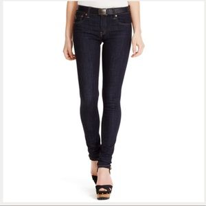 Ralph Lauren Tompkins Skinny Jeans In Indigo NWT